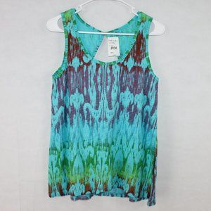 Fresh Produce Size Small NWT Tie Dye Tank Top